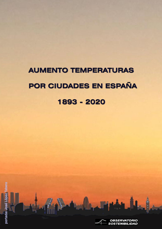 Aumento de las temperaturas en las ciudades
